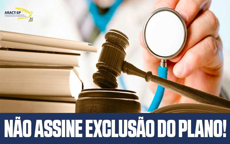 FINDECT DENUNCIA ASSÉDIO MORAL DA ECT E PEDE EXTINÇÃO DE TERMO DE EXCLUSÃO DO PLANO DE SAÚDE