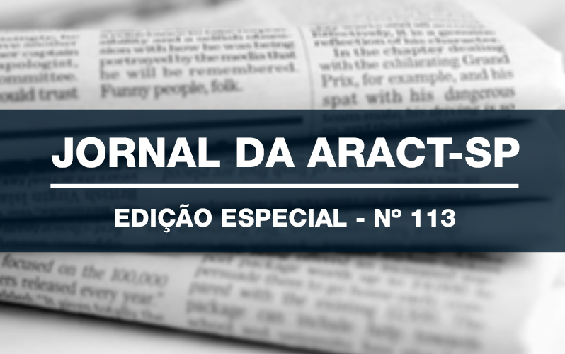 JORNAL DA ARACT – EDIÇÃO ESPECIAL – Nº 113